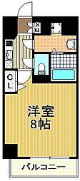 カインド四貫島[2階]の間取り