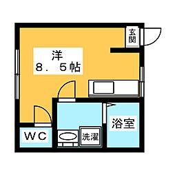 尾関マンション[3階]の間取り