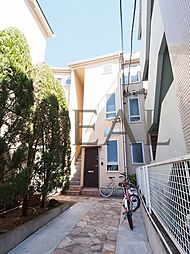 東京都文京区小石川2丁目の賃貸アパートの外観