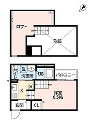 サウステージ[1階]の間取り