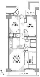 東建ニューハイツ拝島9階 拝島駅歩6分