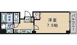 ラ・フォンテ松屋町[8階]の間取り