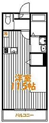 東京都足立区綾瀬5丁目の賃貸マンションの間取り