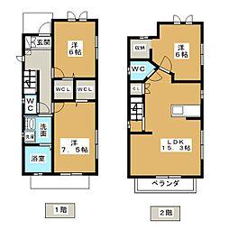 砂田橋駅 15.5万円
