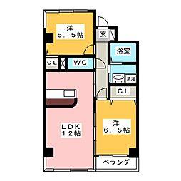 CASA ABITARE[4階]の間取り