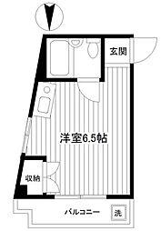 神奈川県横浜市中区本郷町3丁目の賃貸マンションの間取り