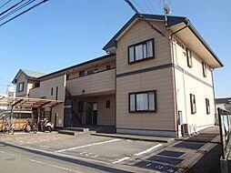 愛媛県松山市南江戸1丁目の賃貸アパートの外観
