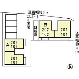 アペルトコート B[202号室]の外観