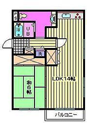 サン・アップマンション[3階]の間取り