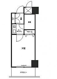 コシノパークサイドビル[5階]の間取り