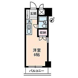 PRESENT・晴[1階]の間取り