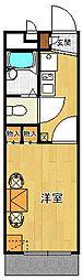 レオパレスアーデル2[102号室]の間取り