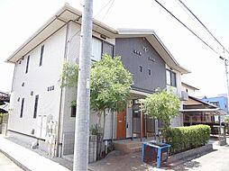愛知県長久手市岩作石田の賃貸アパートの外観