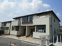 兵庫県西脇市下戸田字東田の賃貸アパートの外観