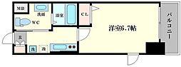 ルフォンプログレ本町WEST[2階]の間取り