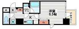 ファーストレジデンス天満橋[6階]の間取り