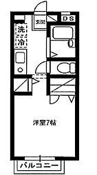 ラ・ハーモニー[2階]の間取り