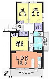 志木ニュータウン中央の森弐番街四号棟(番号4185157)