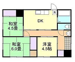 [一戸建] 岡山県倉敷市平田 の賃貸【/】の間取り