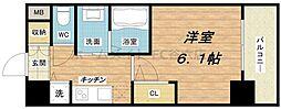 プロシード大阪城南[11階]の間取り