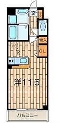 ピノ エスペランサ[6階]の間取り
