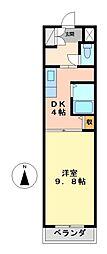 愛知県名古屋市中村区太閤通4丁目の賃貸マンションの間取り