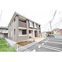 埼玉県日高市鹿山の賃貸アパートの外観