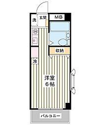 オーガスタ14[3階]の間取り