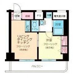 笹塚総榮ビル[402号室号室]の間取り