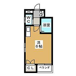 TAISEI都[2階]の間取り
