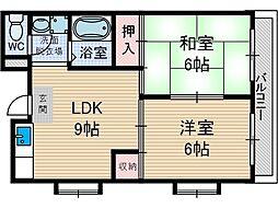 紫明園ローズマンション[101号室号室]の間取り