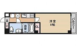 フラッティ壬生坊城[702号室号室]の間取り