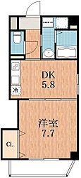 ジュネスガーデン[3階]の間取り