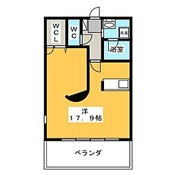 ガーデンコートHISOKO[2階]の間取り