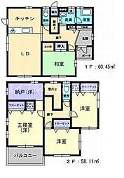 [一戸建] 香川県高松市屋島西町 の賃貸【/】の間取り