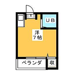 Kコーポ[2階]の間取り