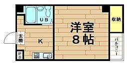 松崎マンション西立花[7階]の間取り