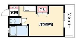 メゾン小嶋[302号室]の間取り