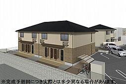 仮 D-room須賀町[201号室]の外観