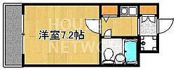 DETOM-1衣笠[111号室号室]の間取り