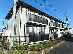 グランパークE[1階]の外観