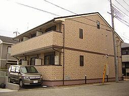 兵庫県西宮市薬師町の賃貸アパートの外観