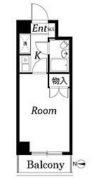 ジョイテル武蔵小杉[2階]の間取り