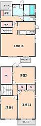 [一戸建] 大阪府豊中市上野坂1丁目 の賃貸【/】の間取り