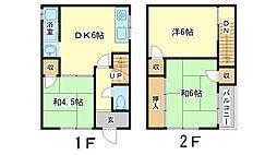 [テラスハウス] 兵庫県姫路市北今宿1丁目 の賃貸【/】の間取り