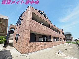 三重県津市白塚町の賃貸アパートの外観