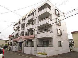 北海道札幌市東区北三十五条東18丁目の賃貸マンションの外観