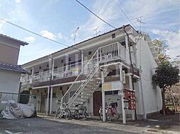 京都府京都市伏見区横大路柿ノ本町の賃貸アパートの外観