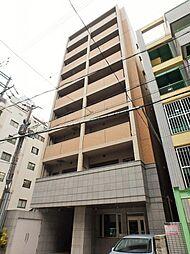 大阪府大阪市天王寺区上汐5丁目の賃貸マンションの外観