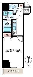 FRERE COURT錦糸公園[3階]の間取り